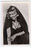 Mauritanie- Jeune Femme Maure- Parure, Collier- Scans Recto-verso - Mauritania