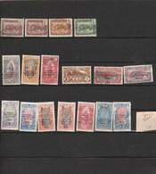 Congo Lot Collection 17 Timbres - Tous états - Congo Francés (1891-1960)