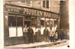 Carte Postale Ancienne De COMMERCY - Le MODERN'BAR - Commercy