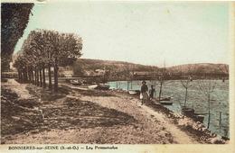 CPA - Carte Postale -- FRANCE - BONNIERES SUR SEINE  - Les Promenades (iv 499) - Bonnieres Sur Seine