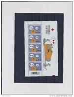Belgie - Belgique 3747 Velletje Van 5 Postfris - Feuillet De 5 Timbres Neufs  -  Rode Kruis - Le Chat - Geluck - Feuilles Complètes