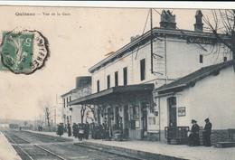 30Quissac  - Vue De  La  La Gare  -écrite Et Voyagée - Quissac