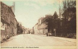 CPA - Carte Postale -- FRANCE - BONNIERES SUR SEINE  -Rue Marcel Sembat (iv 500) - Bonnieres Sur Seine