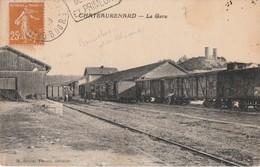 13/ Chateaurenard - La Gare -  Avec Train écrite En 1923 - Chateaurenard