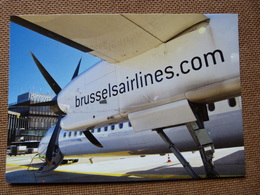 AEROPORT  / FLUGHAFEN / AIRPORT  HANNOVER    / AIRLINE ISSUE BRUSSELS AIRLINES - Aerodromi