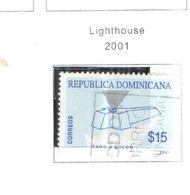 Rep.Dominicana PO 2001 Faro Colombo Scott.1375+Used See Scan On Scott.Pages - Repubblica Domenicana