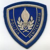 DISTINTIVO Scudetto Omerale Patch Polizia Penitenziaria - Anni 70/80 - Italian Prison Police Patch - Police