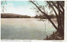 CPA - Carte Postale -- FRANCE - BONNIERES SUR SEINE  -Bord De Seine (iv 502) - Bonnieres Sur Seine