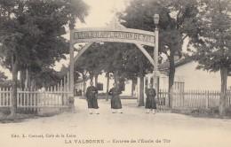 CPA - La Valbonne - Entrée De L'Ecole De Tir - Autres Communes