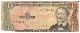Billet > Dominicaine > Année  1984  > Valeur 1 - Dominicana