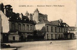 SAUMUR MANUFACTURE GENERALE D'OBJETS RELIGIEUX CORRESPONDANCE COMMERCIALE REF 55314 - Saumur