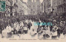 45 - ORLEANS, Les Fêtes De Jeanne D'Arc, Mgr Touchet Et Les Evêques.  - Voir Scan - Orleans
