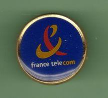 FRANCE TELECOM *** LOGO ROND ***  Dore OR FIN 18 Carats *** A033 - France Telecom