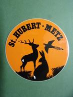 Autocollants - Thème Chasse - Gibier - SAINT-HUBERT - METZ - Stickers