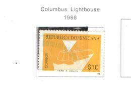 Rep.Dominicana PO 1998 Faro Colombo   Scott.1299+Used See Scan On Scott.Pages - Repubblica Domenicana