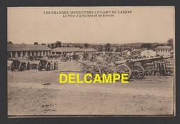 DD / MILITARIA / CAMP DU LARZAC / LE PARC D' ARTILLERIE ET LES ÉCURIES / CIRCULÉE EN 1929 - Barracks