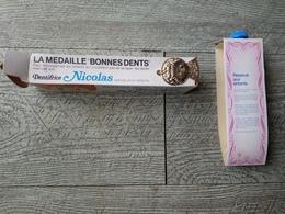 Tube  Dentifrice Nicolas Bonne Nuit Les Petits ORTF  Dentiste Santé Publicité Années 60 Enfantina - Publicidad