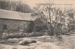 29 QUIMPERLE -    Le Moulin Des Gorrets Et Vallée De L'Ellé    PLAN  PAS COURANT - Quimperlé