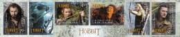New Zealand 2013 The Hobbit Self-Adhesive Strip Of 6 MNH - New Zealand