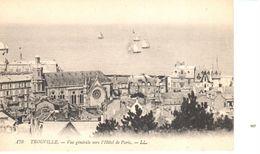 (14) Calvados - CPA - Trouville - Vue Générale Vers L'Hôtel De Paris - Trouville