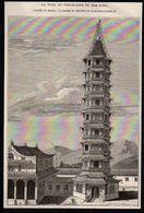 1844  --  CHINE  LA TOUR DE PORCELAINE DE NAN KING   NANKIN   3N936 - Unclassified