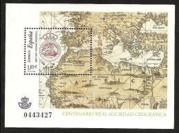 2003-ED. 4021 H.B.-REAL SOCIEDAD GEOGRÁFICA-NUEVO - Blocs & Hojas