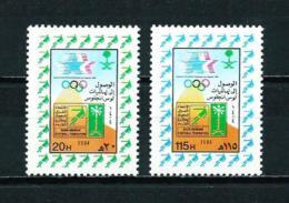 Arabia Saudita  Nº Yvert  593/4  En Nuevo - Arabia Saudita