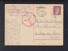 Dt. Reich GSK 1944 Französischer Zwangsarbeiter Betriebslager Chemnitz - Deutschland