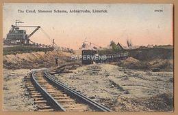 Clare ARDNACRUSHA Shannon Elec Scheme Excavating The Canal Railway   Ir215 - Clare