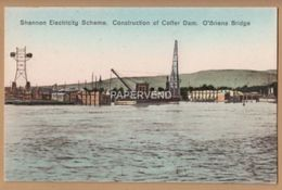 Clare ARDNACRUSHA Shannon Elec Scheme Construction Of Coffer Dock   Ir216 - Clare
