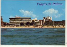 EL ARENAL PLAYA DE PALMA  HOTEL ACAPULCO VISTA PARCIAL - Mallorca
