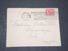 CANADA - Enveloppe De Montréal Pour Sasle En 1912 , Oblitération Plaisante - L 14365 - 1911-1935 Règne De George V