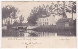Thildonck - Tildonk - Het Kanaal En De Brug Van Het Dorp - 1903 - Uitg. Hasselle - Haacht