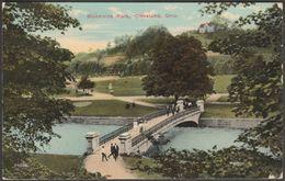 Brookside Park, Cleveland, Ohio, 1913 - Souvo-Chrome Postcard - Cleveland