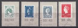 Pays-Bas 1977 Mi.nr: 1101-1104 Briefmarkenausstellun AMPHILEX  Oblitérés / Used / Gestempeld - Periode 1949-1980 (Juliana)