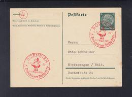 Dt. Reich GSK 1939 Sonderstempel Dornbirn - 1918-1945 1. Republik