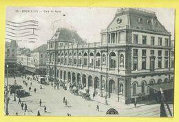 * Brussel - Bruxelles - Brussels * (nr 98) Gare Du Nord, Noordstation, Railway Station, Bahnhof, Animée, Taxi - Brussel (Stad)