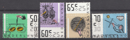 Pays-Bas 1986  Mi.nr: 1288-1291 Sommermarken  Oblitérés / Used / Gestempeld - Periode 1980-... (Beatrix)