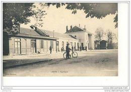 PONS LA GARE CPA 1915 - Gares - Sans Trains