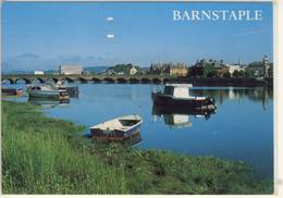 BARNSTAPLE  RIVER TAW AND LONG BRIDGE  USED - England