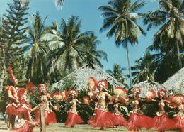 712Ma  Tahiti Grande Photo Originale (30cm X 21cm) Années 70 Vahinées Danse (N°1) - Tahiti