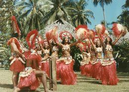712Ma  Tahiti Grande Photo Originale (30cm X 23cm) Années 70 Vahinées Danse (N°2) - Tahiti