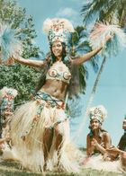 712Ma  Tahiti Grande Photo Originale (31cm X 24cm) Années 70 Vahinée En Gros Plan - Tahiti