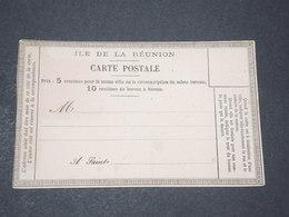 RÉUNION - Carte Postale Précurseur Non Circulé - L 14377 - Réunion (1852-1975)