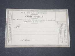 RÉUNION - Carte Postale Précurseur Non Circulé - L 14378 - Réunion (1852-1975)