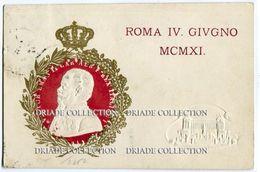 FRANCOBOLLO 5 CENT.CINQUANTENARIO UNITà D'ITALIA E INAUGURAZIONE MONUMENTO VITTORIO EMANUELE II ROMA 4 GIUGNO 1911 - Mostre, Esposizioni