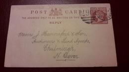 Cartolina Postale Da 1/2 Penny - Interi Postali
