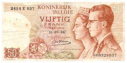 Billet > Belgique >Lot De 27 Billets  > 10 X 50 Fr + 17 X 20 Fr   > Valeur 840 Fr Bel (Changeable ?) - Coins & Banknotes