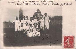 HAUTE GARONNE - RUGBY - CHAMPIONNAT DE FRANCE - FINALE ASS (AS DE LA SEINE)-TOCKEY CLUB DE TOULOUSE-CARTE PHOTO (P1) - Rugby