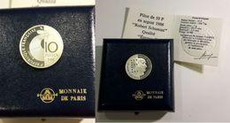 France, 10 Francs, 1986 Robert Schumann - K. 10 Francs